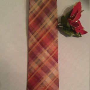 Kenneth Cole Silk Tie in Beautiful Autumn Colors